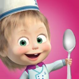 Masha and the Bear Food Games