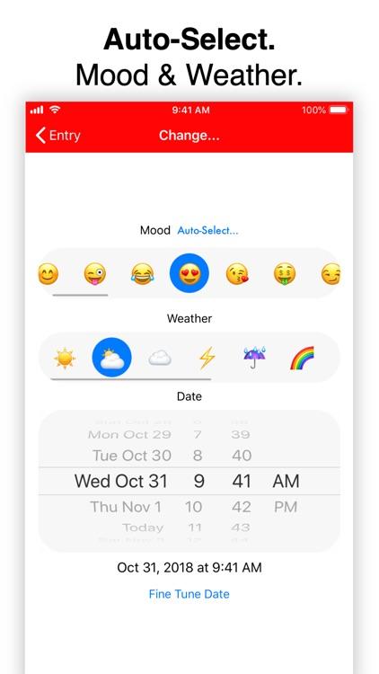 Personal Diary (Journal) App screenshot-3