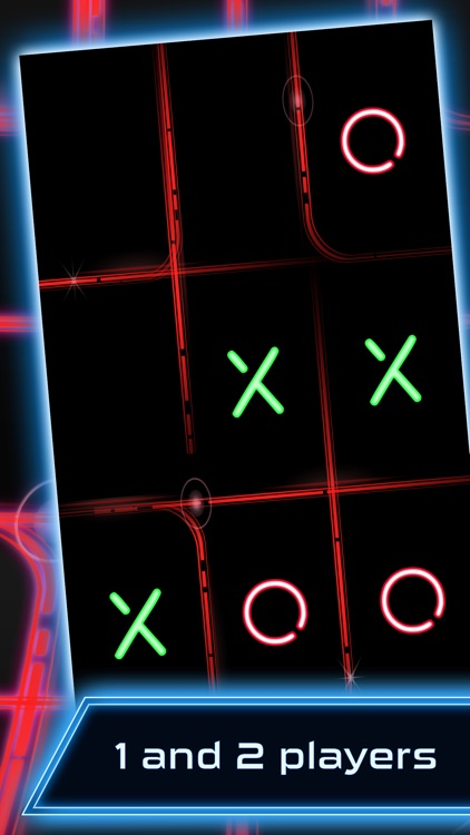 Tic Tac Toe - Glow screenshot-0