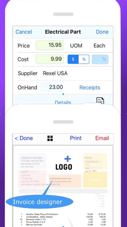 HVAC Pro Invoices & Estimates screenshot-3