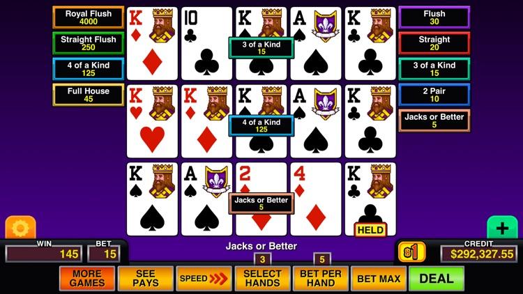 Video Poker Multi Pro screenshot-7