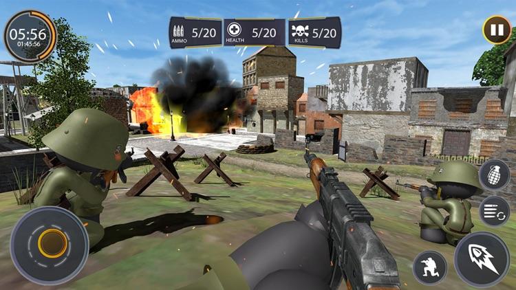 Stickman WW2 Duty - FPS