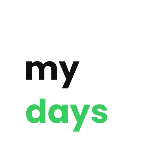 My Days - Countdown Widget