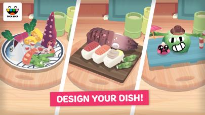 Toca Kitchen Sushi screenshot four