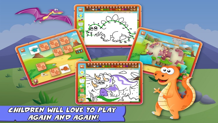 Dinosaurs For Kids Fun Games screenshot-4