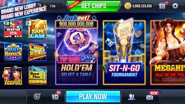 Poker World Mega Billions screenshot-0