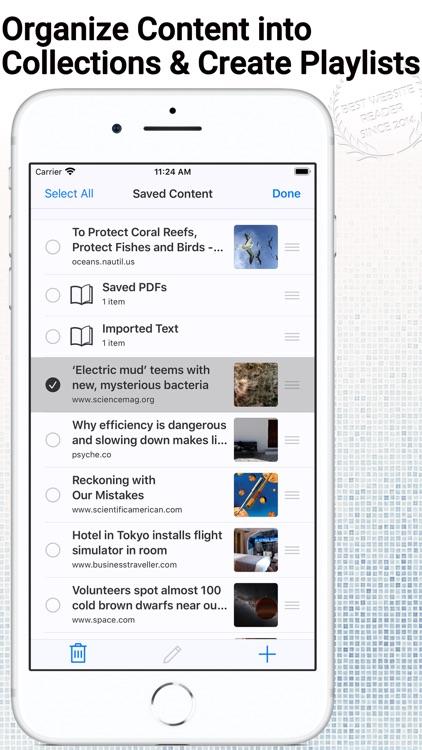 WebOutLoud - Text to Speech screenshot-4