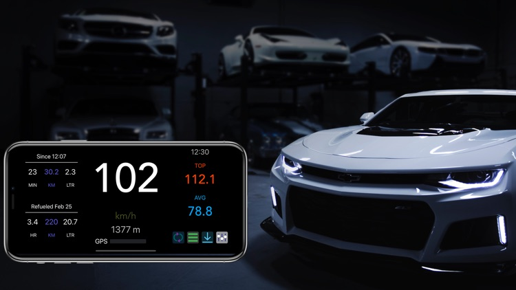 MySpeed - Speedometer & Fuel screenshot-3