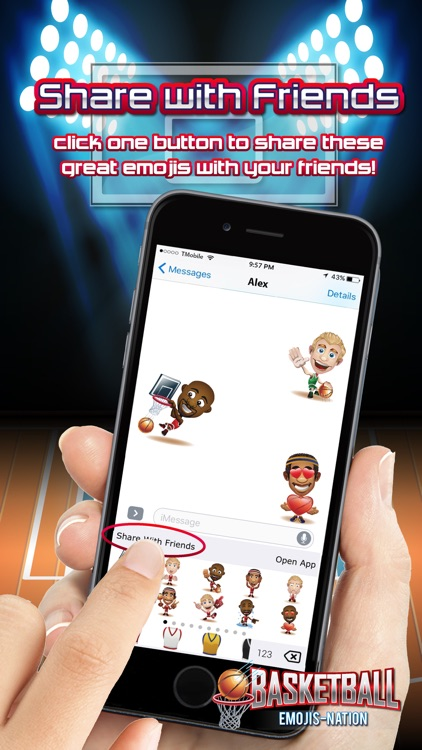 Basketball Emojis Nation screenshot-4