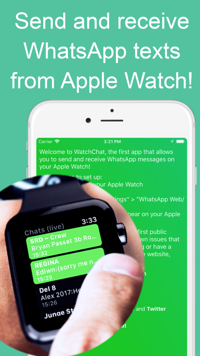 WatchChat for WhatsApp app image