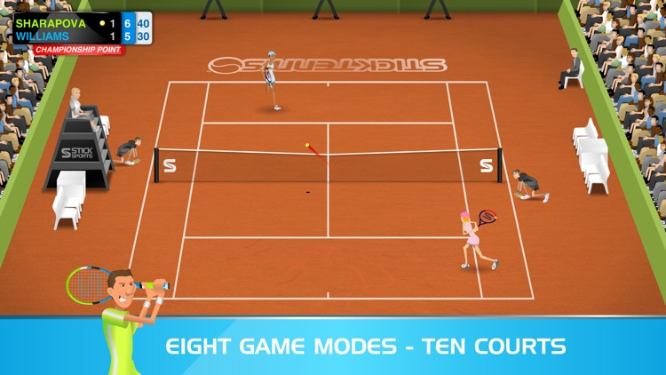 Stick Tennis screenshot-1