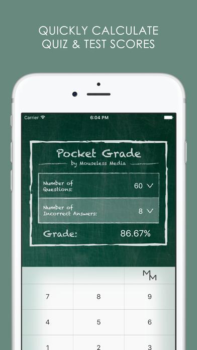 Pocket Grade Calculator Screenshots