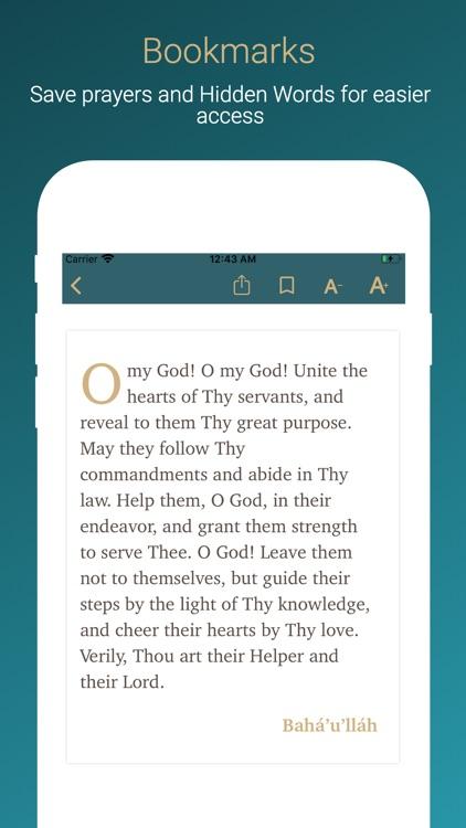 Bahá'í Prayers screenshot-4