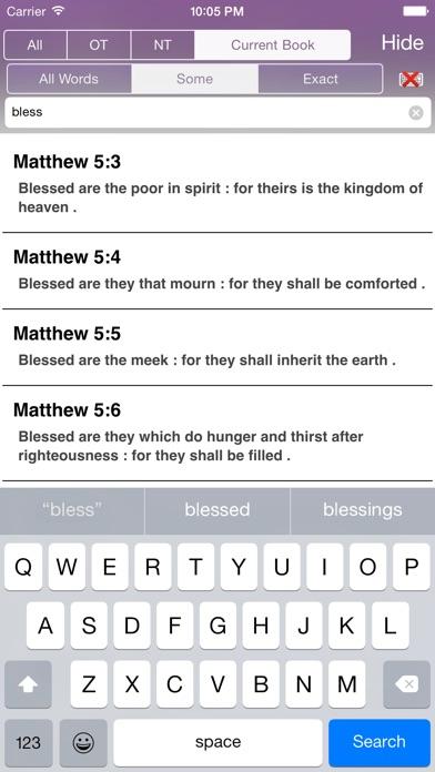 Touch Bible screenshot four