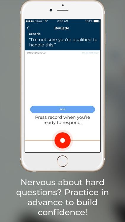 Question Roulette App screenshot-3