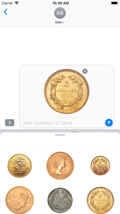 Coins Stickers screenshot-4