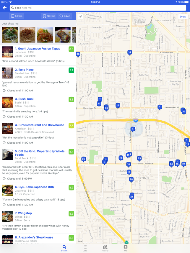 ?Foursquare City Guide Screenshot
