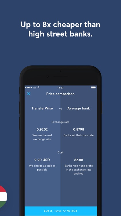 TransferWise screenshot-2