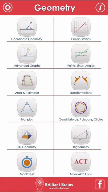 ACT Math : Geometry Lite