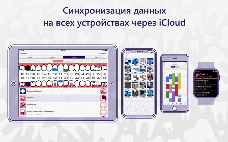 iDentist Pro Стоматология скриншот программы 2