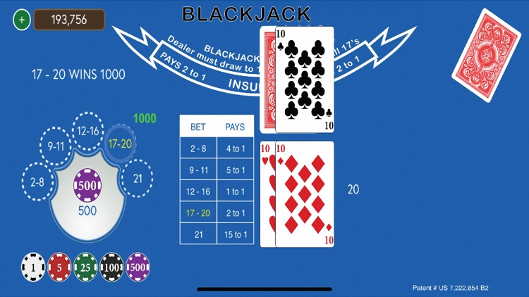 Blackjack Plus - Side Bets