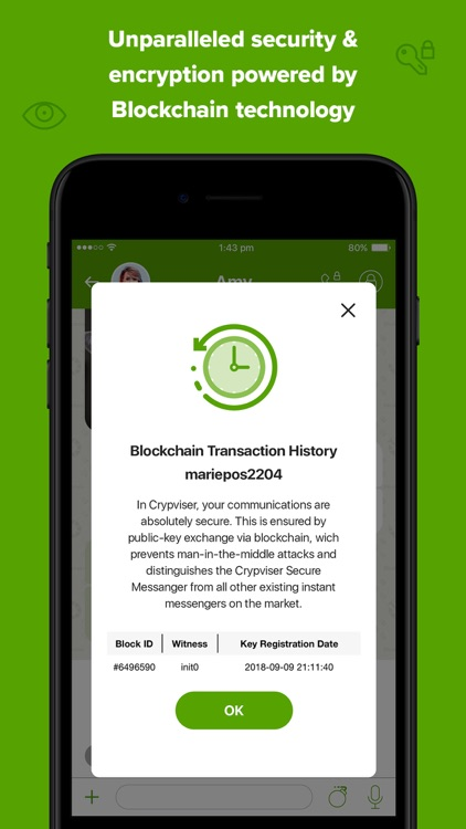 Crypviser Secure Messenger screenshot-3