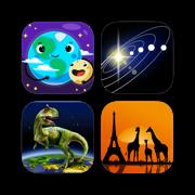 Science Apps for Kids - 科学的孩子: 天文学, 太阳系, 我们的宇宙