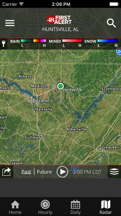 WAFF 48 Storm Team Weather screenshot-4