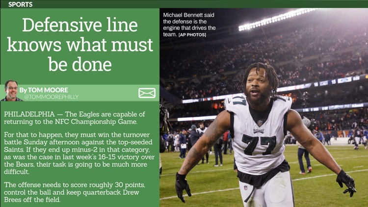 Courier Times Tablet Edition screenshot-3