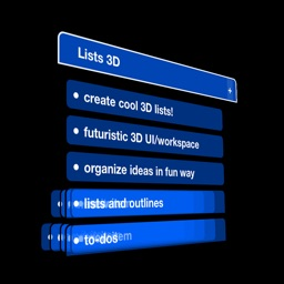 Lists 3D - to-do & outline