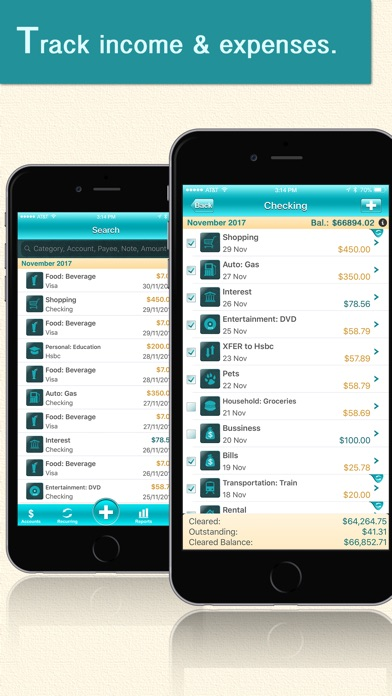 Screenshot for Quick Checkbook Pro in India App Store