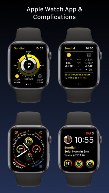 Sundial - Solar & Lunar Times screenshot-4