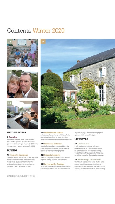 FrenchEntrée MagazineScreenshot of 6