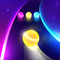 App Icon for Dancing Road: Color Ball Run! App in United States IOS App Store