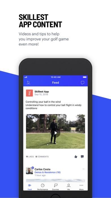 Hole19 Golf GPS & Scoring App Screenshot