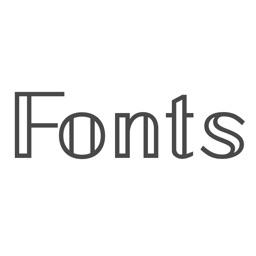 Fonts Plus - Keyboard Fonts