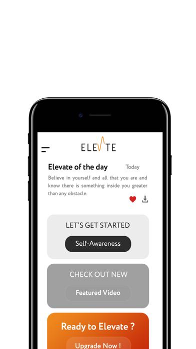 Elevates app screenshot 2