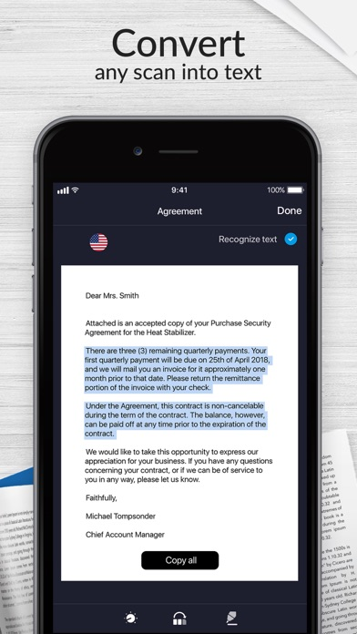 messages.download Scanner for Me: Scan documents software