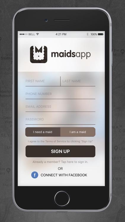 MaidsApp screenshot-3