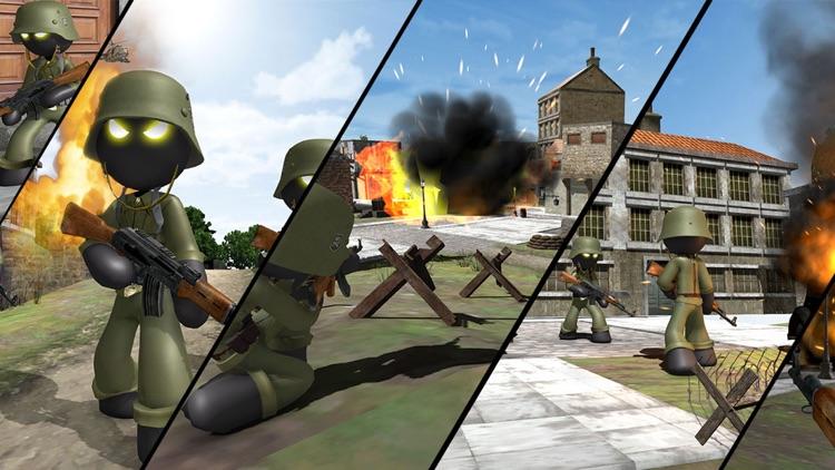 Stickman WW2 Duty - FPS screenshot-4