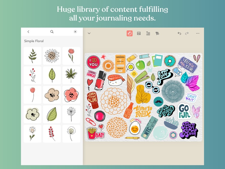 Zinnia Journal & Planner screenshot-4