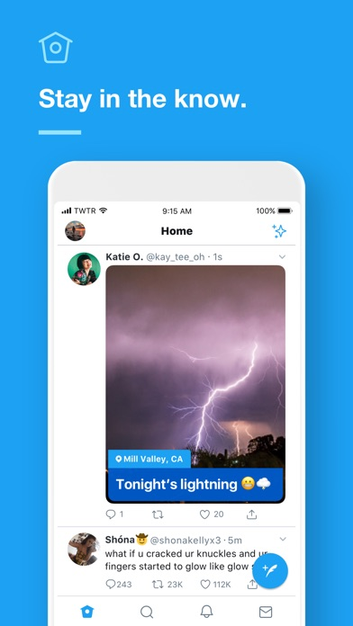 Screenshot for Twitter in India App Store