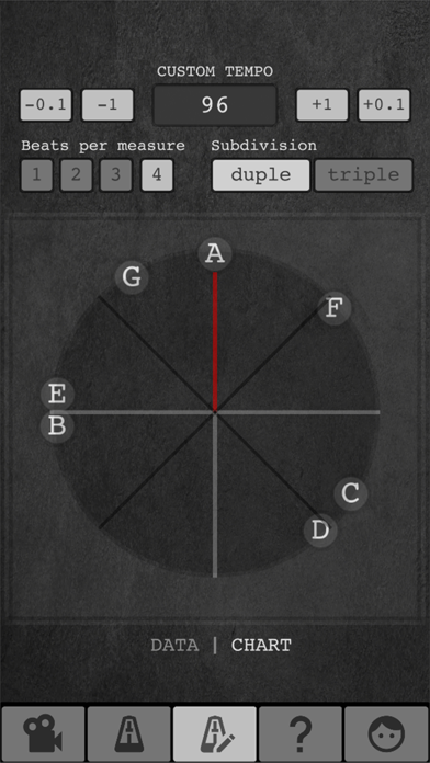 Screenshot for Tempo Finder for Film Scoring in Japan App Store