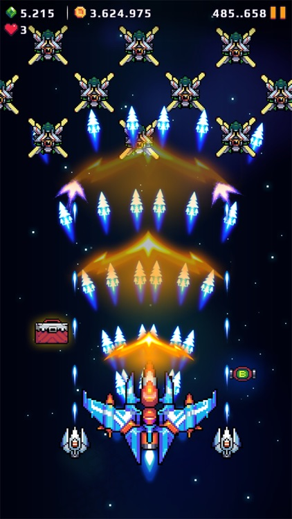 Galaxy Force - Falcon Squad screenshot-4