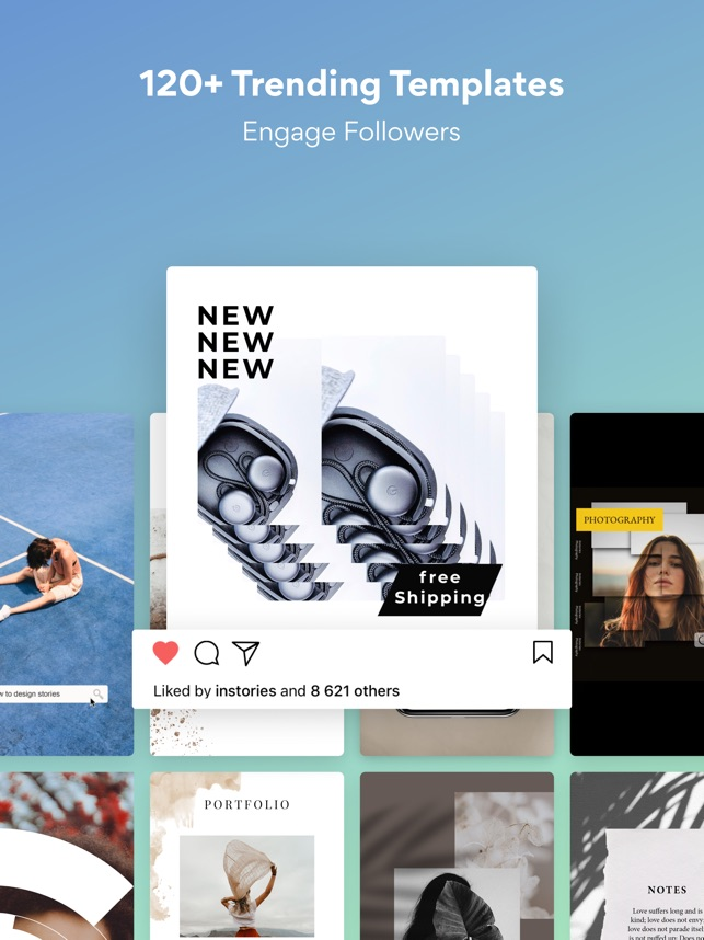 Instories: Insta Story Editor na App Store