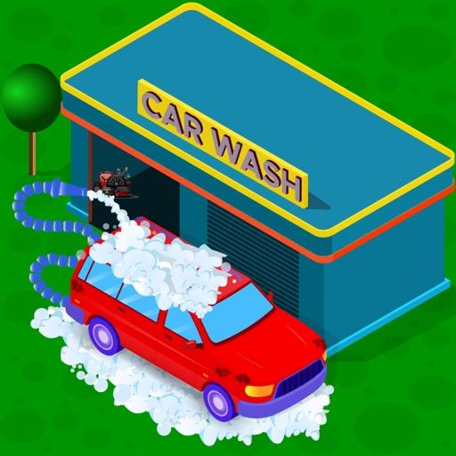 Car wash salon and garage