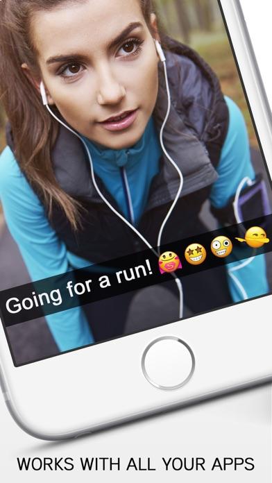 Screenshot for Emoji - inTextMoji Pro ;) in United Arab Emirates App Store