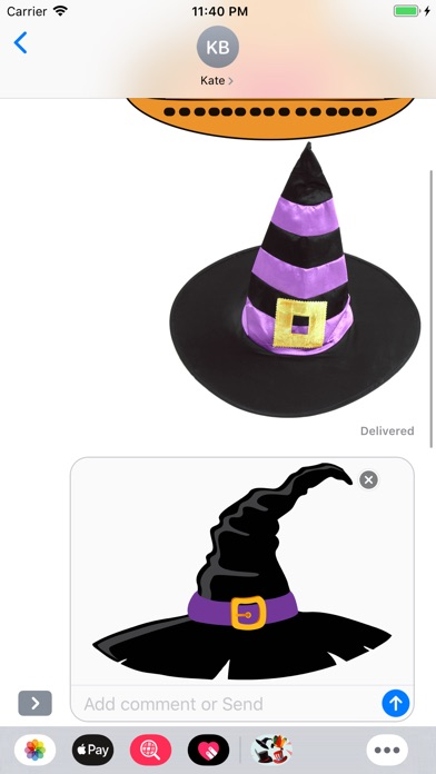 Screenshot for Hats Emoji Stickers in Singapore App Store