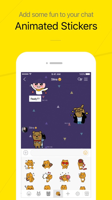 KakaoTalk Messenger Screenshots