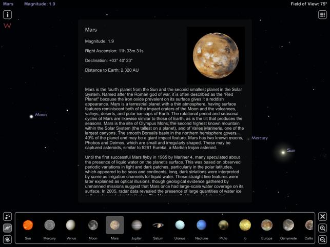 Star Rover HD - Night Sky Map Screenshot